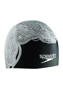 SPEEDO Silicone SUBLIME Cap SWIMCAP TENTACLE HAIR Swimming Soft Pool 7510203