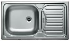 acciaio inox lavello incasso cucina cucina SCARICO LAVELLO LAVANDINO 43,5X76CM