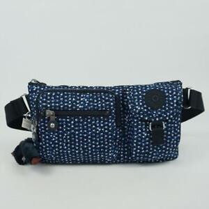 KIPLING PRESTO Convertible Waist Bag Belt Bum Bag Printed Notes