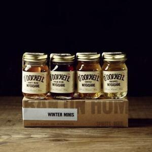 O'Donnell Moonshine  WINTER Set Mini Moonshine Jars