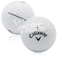 12 Callaway Supersoft Near Mint AAAA Used Golf Balls - FREE Shipping