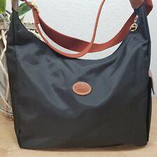 Longchamp Hobo Bag Wickeltasche crossbody schwarz original