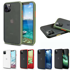 Shockproof Case For iPhone 11 S20 Strong Hard Gel Bumper Liquid Silicone Cover