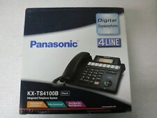 New! Sealed Box! Panasonic KX-TS4100B 4-Line Integrated Phone System