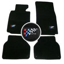 4 TAPIS SOL BMW SERIE 5 E39 525td 530d M5 MOQUETTE LOGO EDITION M SPECIFIQUE