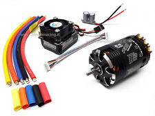 COMBO ROCKET BRUSHLESS SENSORI MOTORE 540 8.5T + REGOLATORE 120A TURBO MODIFIED