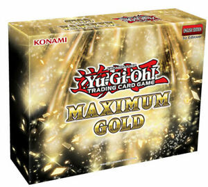 Yu-Gi-Oh! Maximum Gold Box - New, Sealed