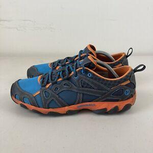 Merrell Blue Orange Peel Mens Hiking Shoes US 10 VGC + Free Postage