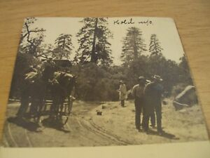 """Circa 1905 Postcard Depicting """"WILD WEST ROBBERY HOLD-UP""""~"""