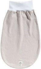 bellybutton newborn Baby Schlafsack Strampelsack 0-6 M beige taupe geringelt