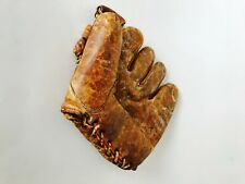 Nokona Antique Baseball Glove Mitt Nokona Texas Brown Leather Fast Shipping