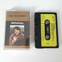 PAUL MCCARTNEY S/T SELF TITLED CASSETTE TAPE 1970 PAPER LABEL PARLOPHONE EMI UK