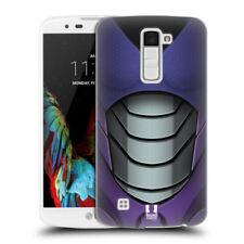 Fundas y carcasas Para LG K10 color principal morado para teléfonos móviles y PDAs