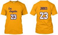 Lebron James 23 Los Angeles LA - Men Women Youth Tee T Shirt, XS-3XL
