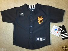 San Francisco Giants MLB Baseball adidas Jersey Toddler Baby 24m NEW Cute!