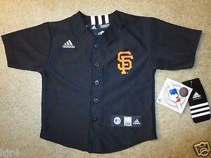 San Francisco Giants MLB Baseball adidas Jersey Toddler Baby 24m NEW Cute!