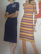 Vintage 1960's McCall's 8901 DRESS w/ BACK ZIPPER Sewing Pattern Women UNCUT
