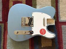 Fender Squier Telecaster BODY Tele LAKE PLACID BLUE - FULLY LOADED + neck plate!