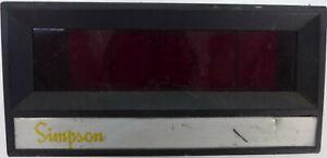 Simpson Model 2840 Digital Panel Instrument 200V