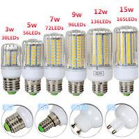G9 GU10 E14 E27 3W 9W 12W 15W LED Lampe Glühbirne Leuchtmittel 5736SMD Sparlampe