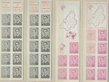 """Belgique België, 4 Carnets de timbres """"Roi Baudouin"""" neufs MNH, bien"""