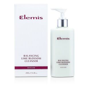 NEW Elemis Balancing Lime Blossom Cleanser 200ml Womens Skin Care