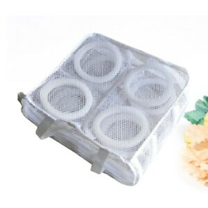 1PC Laundry Washing Bags Reusable Square Ventilated Portable Shoes Mesh Bag