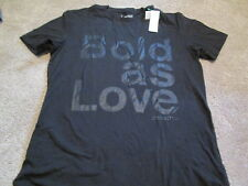 "NEW Vintage & UNIQUE BENETTON Graphic Print ""BOLD AS LOVE"" Blk XL FREE SHIPPING!"