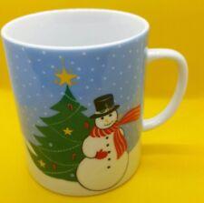 Shibata Holiday Coffee Cup Mug Porcelain Christmas Japan Collectible (C3)