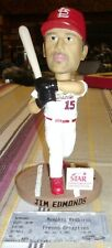 St Louis Cardinals JIM EDMONDS Memphis Redbirds Bobblehead SGA WITH GAME TIC INC