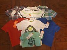 Lot of 7 Gymboree boys shirts, size 6-12 Months