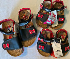 Disney Toddler Girls' Minnie Mouse Footbed Sandals, Size 6, 8, 13