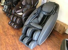 Human Touch Novo Xt Premium Zero Gravity 3D Massage Chair Recliner Heat - Grey