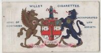 Incorporated Law Society England Lawyers Solicitors 100+ Y/O Trade  Card