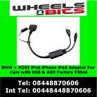 6112044079 Cable a AUX Adaptador para BMW, MINI Cooper iPod iPhone iPad interfaz