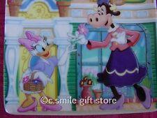Disney *DAISY'S FLOWER SHOP* plate Bradford Exchange MINT w/box & COA