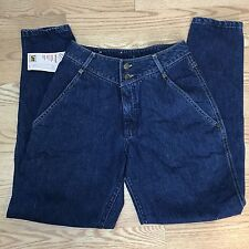 VTG Womens Lee NWT Casuals Mom Jean Dropped Yoke High Waist Tapered Leg Size 8