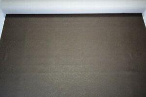 "Vinyl Fabric Dark Brown Ostrich Emu Marine 15 Feet Boat Car Upholstery 54"" W"
