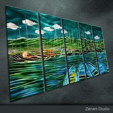 Modern Abstract Metal Art Original Handmade Large Indoor Outdoor Decor-Zenart