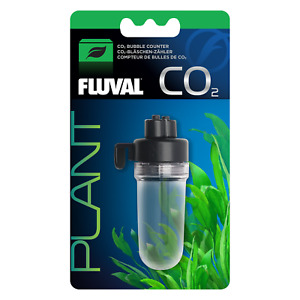 NEW Fluval CO2 Bubble Counter - Monitors CO2 Dosing in Aquariums and Fish Tanks