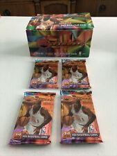 1993-94 Topps Finest Basketball Box - 4 Jumbo Packs JORDAN SHAQ Refractors