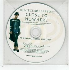 (GD853) Deniece Pearson, Close To Nowhere - 2013 DJ CD