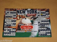 2015 NEW YORK YANKEES  BASEBALL MAGNET SCHEDULE FOR GAMES