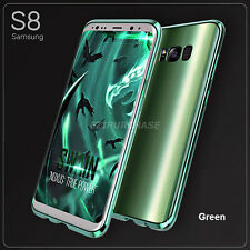 Shockproof Aluminum Metal Bumper + PC Back Case For Samsung Galaxy S8 Plus S001