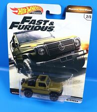 Mattel Hot Wheels Fast & Furious `91 Mercedes-Benz G-class 2/5