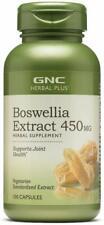 GNC Herbal Plus Boswellia Extract 450mg 100 Capsules