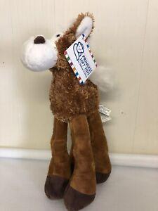 Melissa Doug Princess Soft Toys Lanky Legs Horse Plush Stuffed HTF With Tag Fuzz