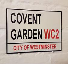 Londres calle signo-Covent Garden-Metal Aluminio Signo