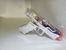 Sharp Shot Dual Trigger Gun Nintendo Wii (Broken Front Flap + No back flap) #B11