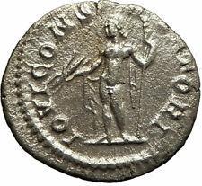 SEVERUS ALEXANDER 222AD Ancient Silver Roman Coin Jupiter Thunderbolt  i76922